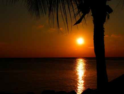 sea dawn sunset holiday